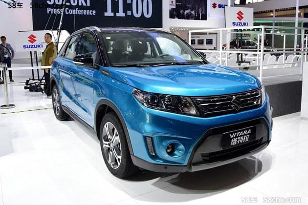 2016重庆车展 长安铃木维特拉新增车型