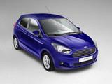 满足欧洲市场需求 福特小型车Ka+曝官图