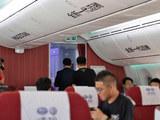 全新一代迈腾与波音787-9 空中联姻