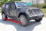 新款Jeep牧马人谍照 首搭载增压发动机