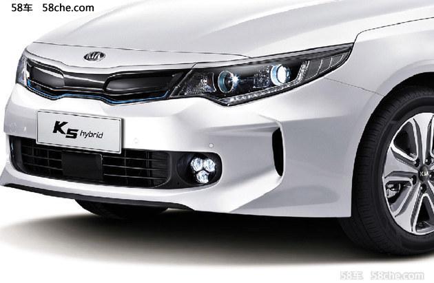 将推3款车 东风悦达起亚K5混动版今晚上市
