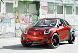 smart未来将推出SUV车型 对标日产JUKE