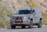 日产全新中型SUV谍照 或搭增压发动机