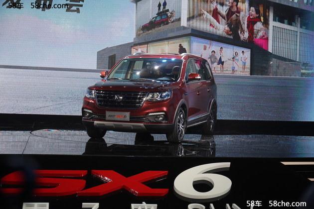 东风风行SX6正式上市 售XX-XXXX万元