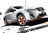 斯巴鲁全新XV混动海外上市 22.29万起售