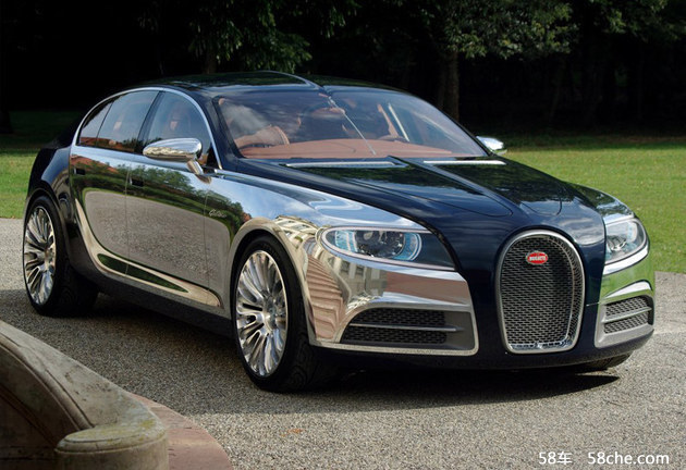 布加迪将推第二款车型 锁定更实惠车型