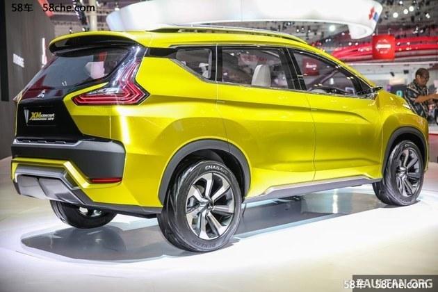 三菱XM概念车印尼车展发布 跨界新理念