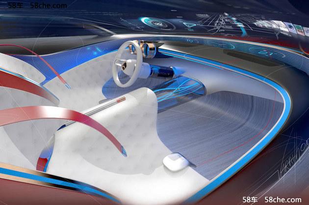 迈巴赫6概念车官图 古典与现代完美结合