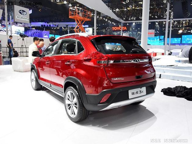 瑞虎3X 7座SUV等车型 曝光奇瑞新车计划高清图片