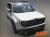 国产Jeep自由侠 1.4T手动车型谍照曝光