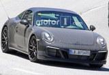 保时捷911 Targa GTS无伪谍照 或巴黎发