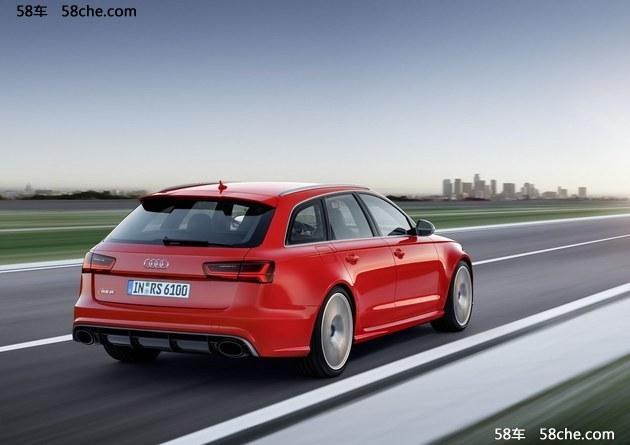 奥迪全新RS6车型明年上市 专属中国市场