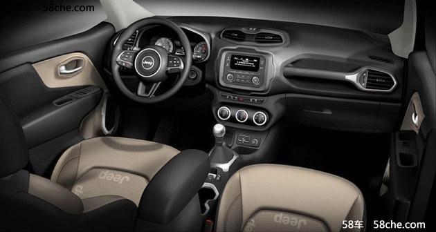 全新Jeep自由侠1.4T手动挡车型官图曝光