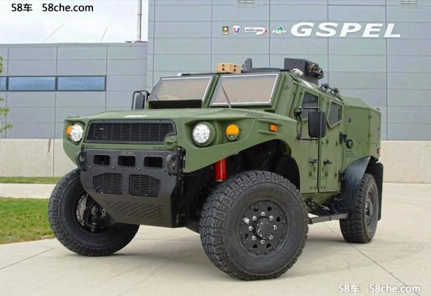 雪佛兰将推燃料电池军车 入列美国陆军