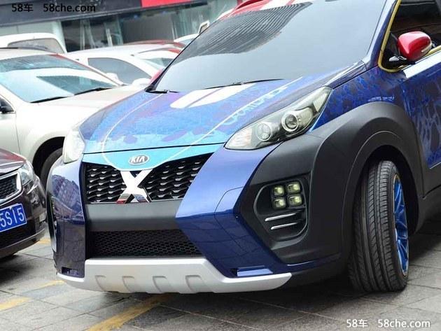 2016成都车展探馆 起亚KX5特别版亮相