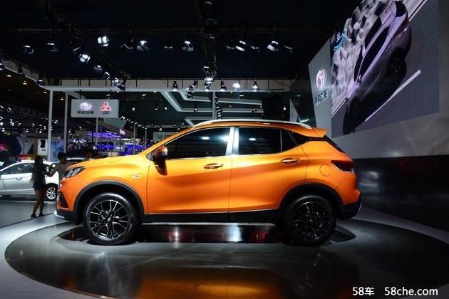 2016成都车展 东南全新SUV DX3正式发布