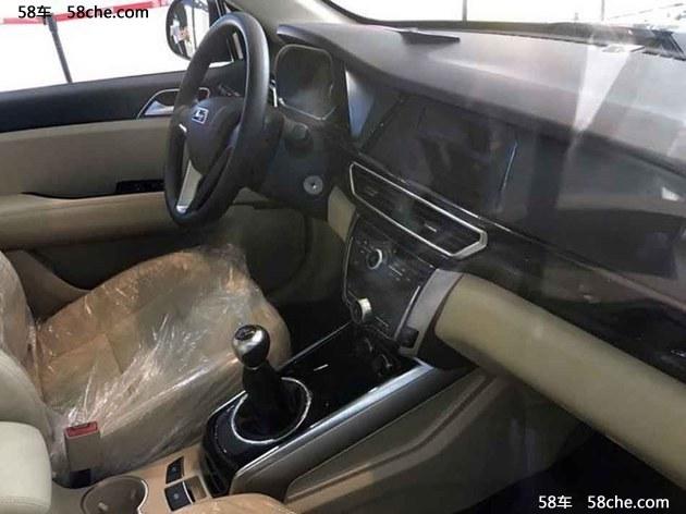 2016成都车展 大迈X5超值版预售7万起