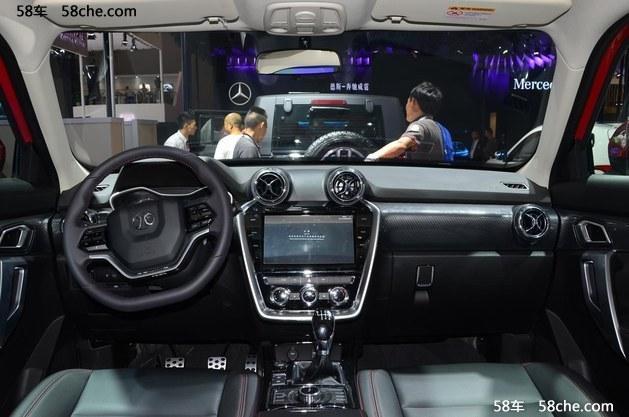 2016成都车展 北京BJ20预售10-14万元