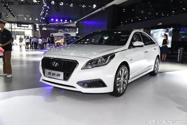 2016成都车展 北京现代发新款索纳塔九