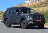 日产全新中型SUV谍照 基于Navara皮卡
