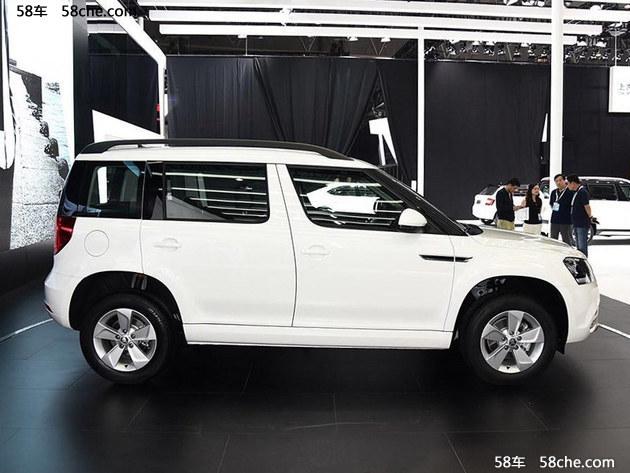 斯柯达新款Yeti或9月上市 车型配置调整