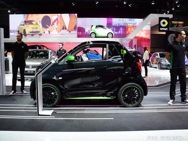 2016巴黎车展探馆 全新smart电动版亮相