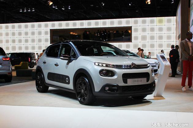 2016巴黎车展 雪铁龙全新SUV-C3发布