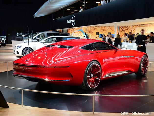 【Vision Mercedes-Maybach 6新闻中心】梅赛