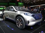 2016巴黎车展 奔驰发布纯电动概念SUV