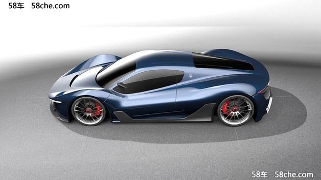 曝玛莎拉蒂顶级超跑MC-63概念车设计图