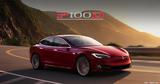 P100D加速更疯狂- Model S将有玻璃顶!