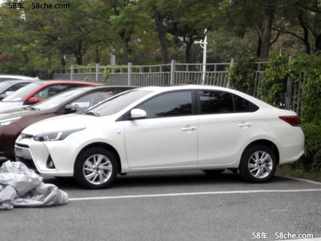 2016广州车展探馆 YARiS L 致炫三厢版