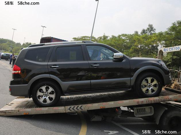 2016广州车展探馆 曝起亚新款霸锐实车