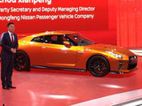 2016广州车展 新款GT-R售162.8-172.8万