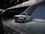 2016广州车展 奥迪Q7 e-tron车型实拍