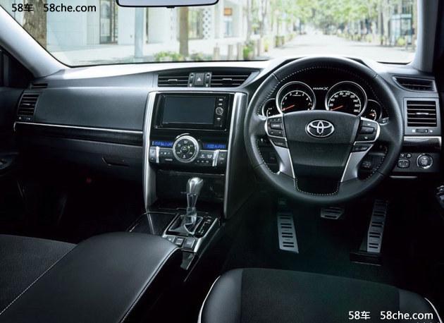 海外版新款丰田锐志官图 设计更激进