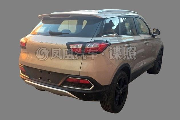 猎豹CS9量产车型谍照 或于2017年上市