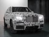 曝劳斯莱斯首款SUV谍照 将于2018年投产