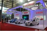 众泰云100S亮相新能源汽车智慧交通展览
