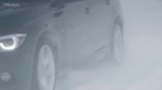 宝马320Li 雪地驾驶