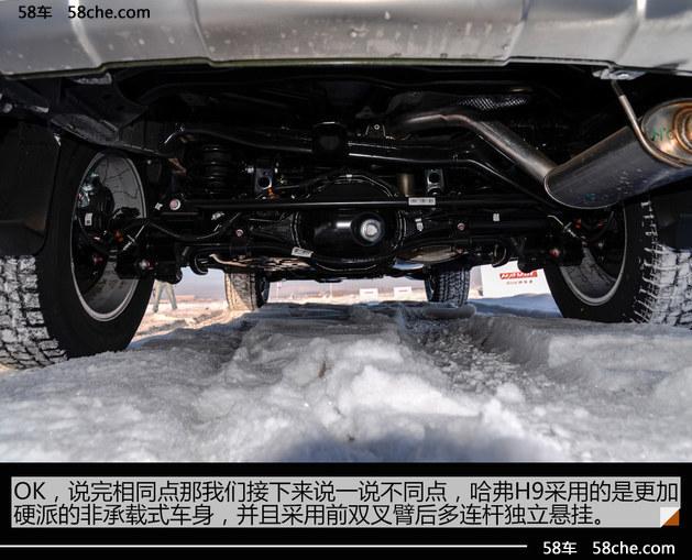 哈弗H8/H9海拉尔试驾  四驱无惧冰雪