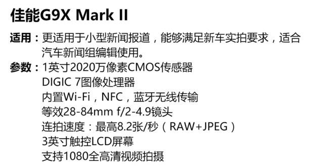 潮物志:看CES上哪款新相机适合编辑拍车