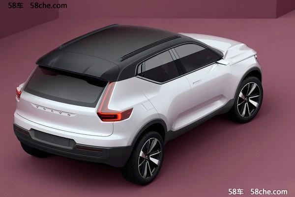 沃尔沃XC40或上海车展发布 紧凑型SUV