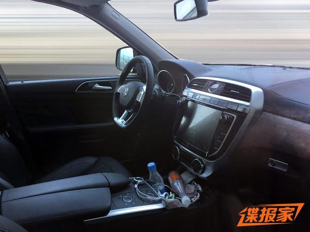 北京BJ90无伪谍照曝光 搭载奔驰发动机