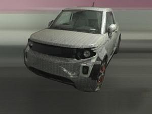 ARCFOX-1硬顶版量产车谍照 或1季度上市