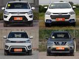 都卖5万多 北汽EC180电动车VS四款小SUV