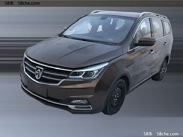 宝骏730自动挡车型谍照 年内将正式上市