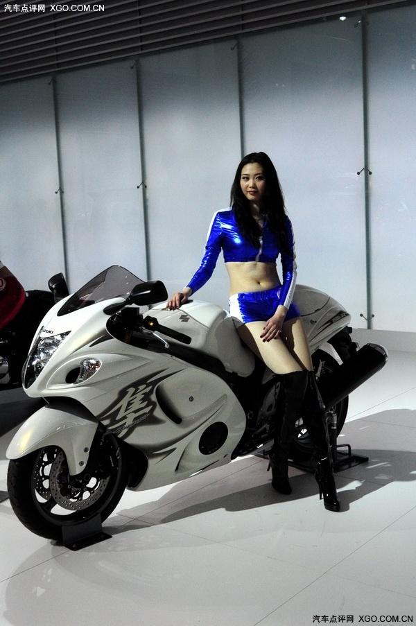 香车美女 摩托车摸更性感