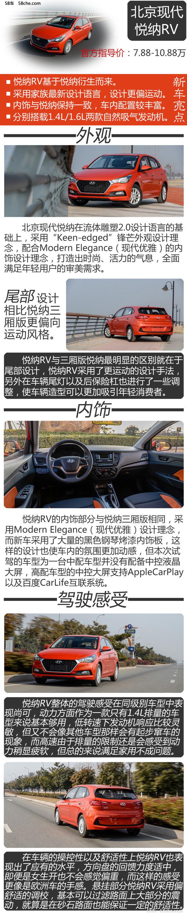 试北京现代悦纳RV  配置丰富/性价比高