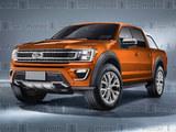 福特新Ranger假想图 有望于2018年推出